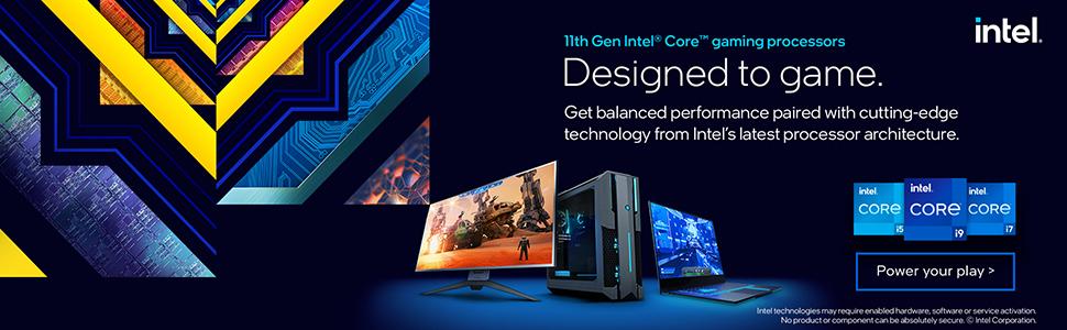 11th Gen Intel Core Gaming Processors